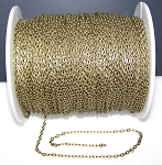 16 Ft (5 meters) of Antique Bronze Cable Chain 4x3mm